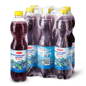 Quelly Blueberry 150cl 6Pack Kombi